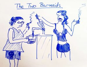 The Two Barmaids