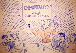 Immortality through Curated Legacies