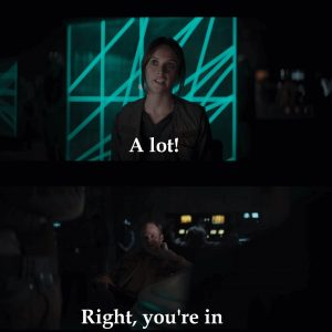Rogue One right you're in