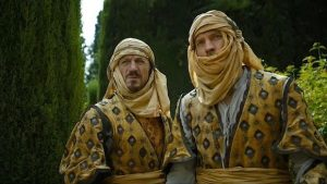 Bronn and Jaime in Dorne