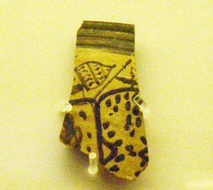 Mycenaean pottery fragment