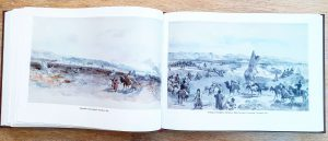 William Simpson and the Crisis in Central Asia: double page spread